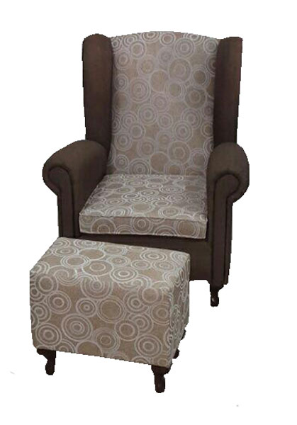 Fotelja i tabure Beržera