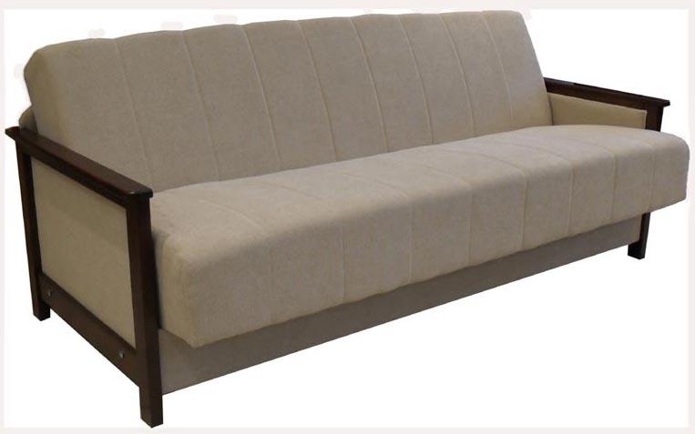 Kauč sa drvenim stranicama