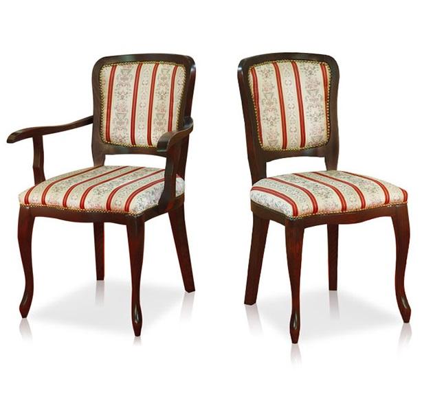 Polufotelja i stolica Silvana